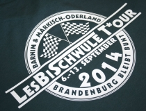 LesBiSchwule T*our der LKS Brandenburg [Flextransferdruck]