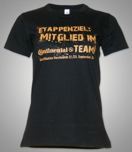 Teamshirts für Continental [Siebdrucktransfer]
