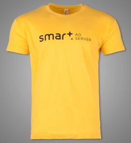 Promotion T-Shirts für Smart Adserver [Flexdruck]