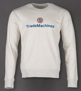 Bio-Pullover (FairTrade) für TradeMachines [Flexdruck]