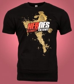 Eventshirts für die Heroes Fight Night '14 [Rastersiebdruck]