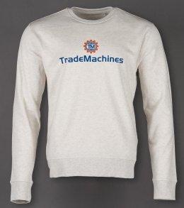 Bio-Pullover (FairTrade) für TradeMachines [Flexdruck]