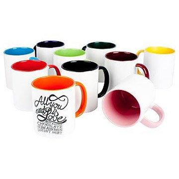 Farbige Tassen