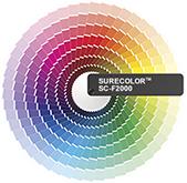Farbfächer für den Digital-Direktdruck
