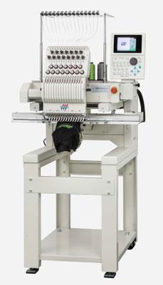 Stickerei nur.Fabrik mit Stickmaschinen von Tajima